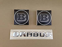 Эмблема капота Brabus MERCEDES S CLASS W222 2014-2016