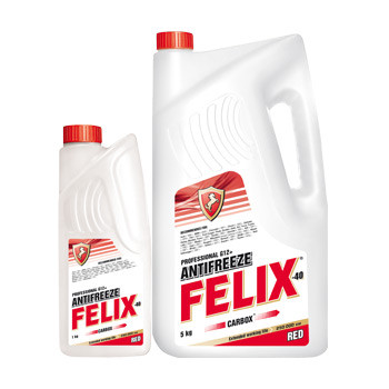 Антифриз Феликс (FELIX Carbox) Красный 5л