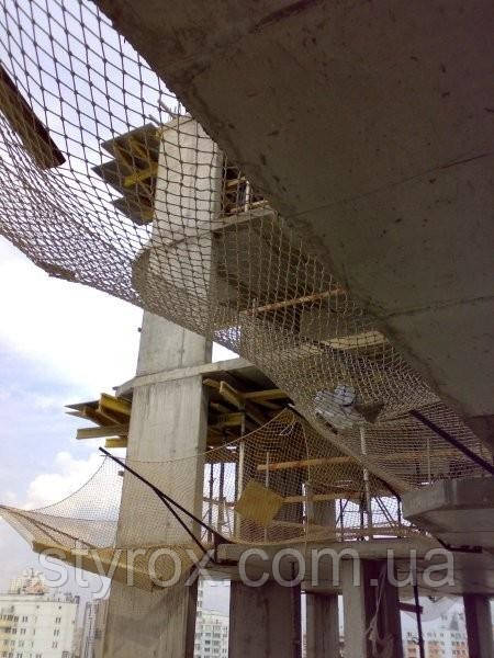 Protective net for safety of construction