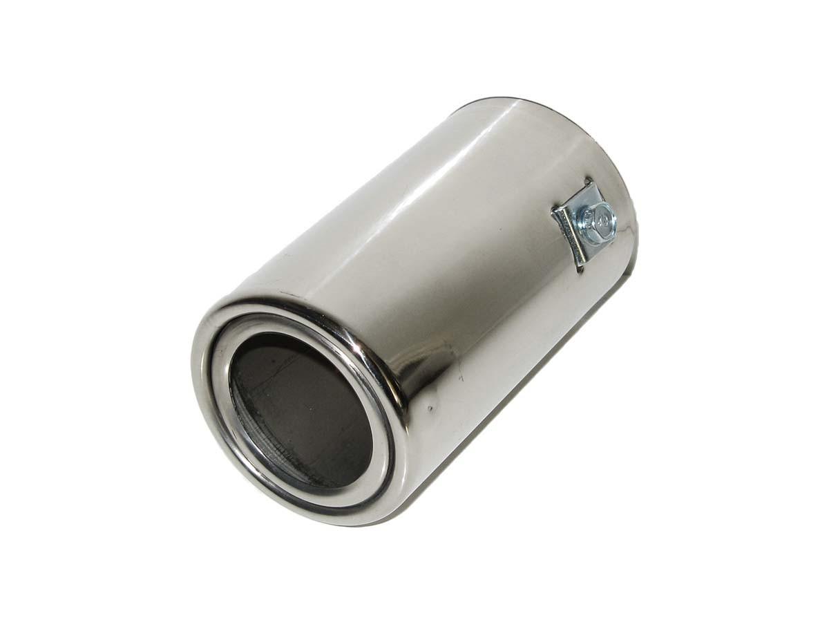 Насадка наконечник глушителя нержавейка 0095 (35-55мм) тюнинг на выхлопную трубу глушитель универсальная