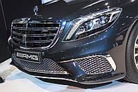 Mercedes-Benz-W222 Эмблема в Решетку Радиатора с логотипом AMG