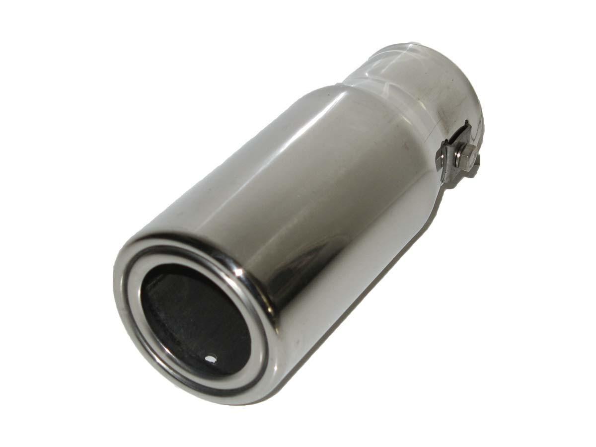 Насадка наконечник глушителя нержавейка 0101 (30-45мм) тюнинг на выхлопную трубу глушитель универсальная
