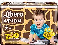 Подгузник детский Либеро Up&Go 4 (7-11кг) (32)