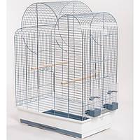 Клетка для мелких и средних птиц ELIZA цинк INTERZOO, 54*34*75 см
