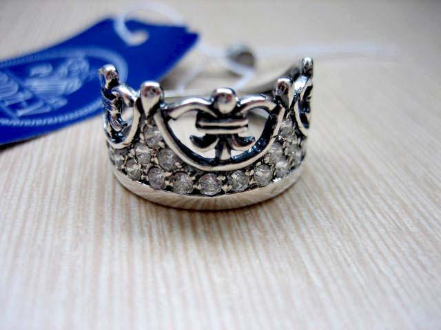 Серебряный комплект Корона