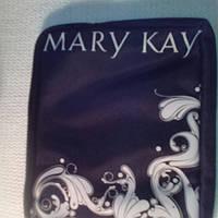 Косметичка черная с белым орнаментом чехол Mary Kay (Америка)