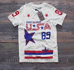 Футболка с принтом 8&9 USA Star мужская