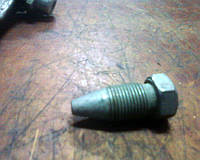 Оригинальный стопор конусный / болт фиксации рычага на оси вилки выключения сцепления 245-1601209