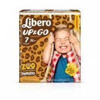 Подгузник детский Либеро Up&Go 7 (16-26кг) (56)