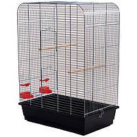 Клетка для средних птиц NINA цинк INTERZOO, 54*34*75 см