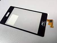 Тачскрин (сенсор) для LG L5 E610, E612 (black) Качество