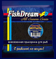 "Зимняя прикормка FishDream ""Мотыль-Плотва"" 500g"
