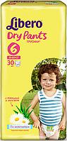 Подгузник детский Либеро Драйпантс 6 (13-20кг) (30)