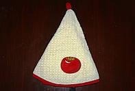 """004 полотенце """"Mariposa"""" круглое махра  d-70  помидор"""