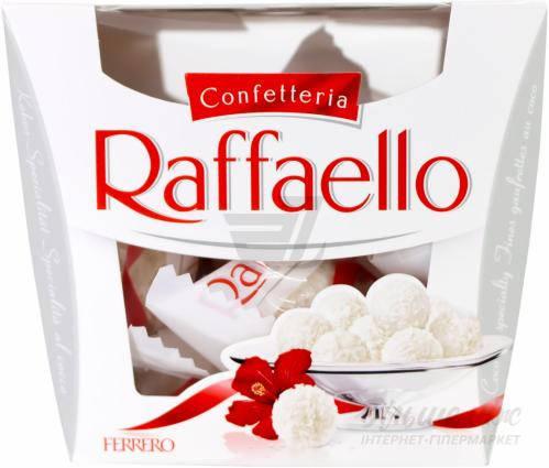 КОНФЕТЫ Ferrero Raffaello 150 г, фото 2
