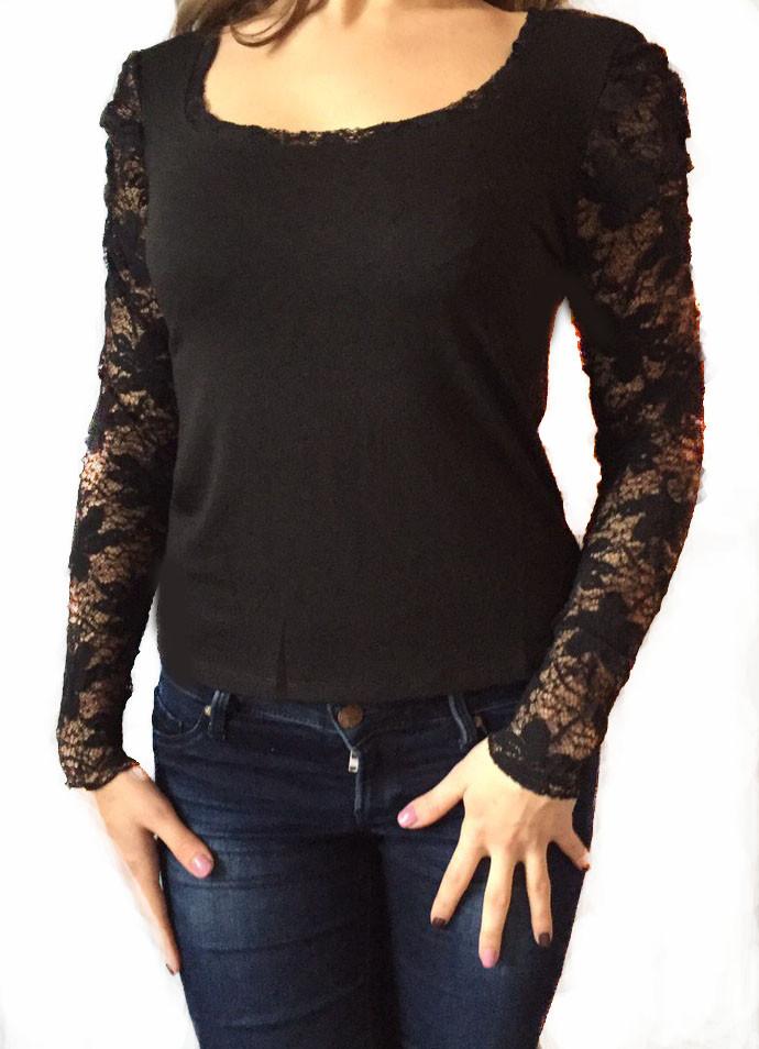 Женская кофта черная № 508