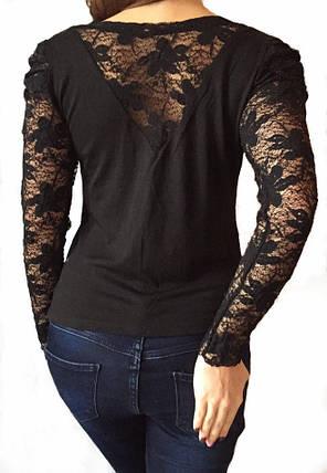 Женская кофта черная № 508, фото 2