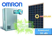 Omron + Abi-Solar комплект солнечной электростанции для дома (30 кВт)