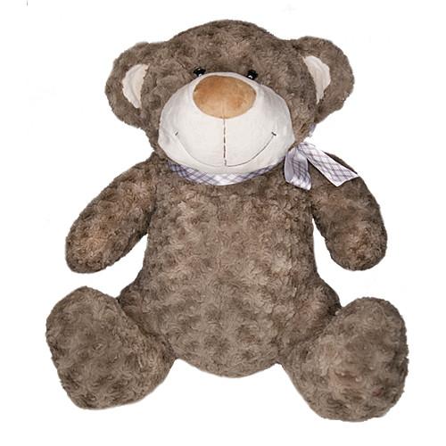 Мягкая игрушка «Grand» (4001GMG) медведь коричневый с бантом, 40 см
