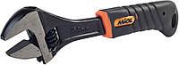 Разводной ключ с 2-компонентной рукоятью с захватом до 20 мм длинною 150 мм Miol 54-040