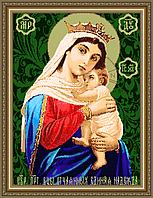 Набор для бисероплетения «Икона Образ Богородицы Отчаянных единая надежда»