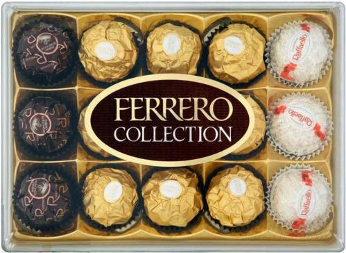 Шоколадные конфеты Ferrero Ferrero Collection Т15 172 г., фото 2
