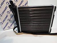 Радиатор печки ВАЗ 2123 (Радиатор отопителя ВАЗ 2123 Шеви-Нива алюминиевый) Прамо