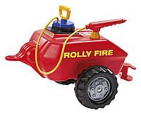 Прицеп цистерна пожарника для опрыскивания Rolly Toys  красный