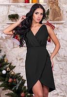 Черное классическое платья женское