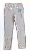 Спортивные теплые практичные брюки для девочки на флисе штаны 152 рост