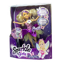 Кукла ночная фея со светящимися крылышками Sparkle Girlz