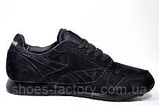 Кроссовки мужские Reebok Classic Leather кожаные, фото 3
