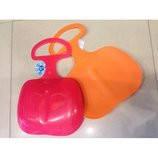 Ледянка-Сидушка (0518) (розовая,оранжевая)