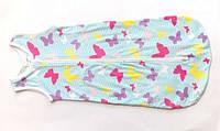 Ночнушка детский спальный мешок конверт теплый комфортный для девочки мальчика