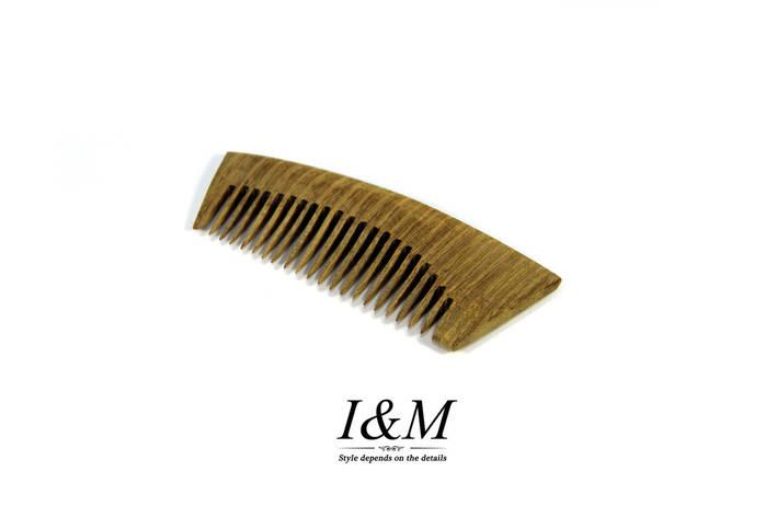 """Деревянный гребешок для бороды БрадВей """"Овал"""" (264003), фото 2"""