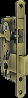 LH 25-50 AB Замок межкомнатный под цилиндр. механизм (бронза)