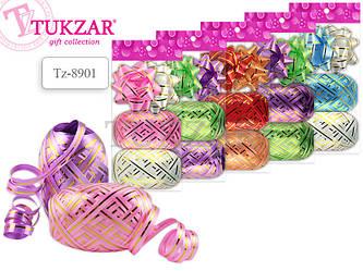 Набор для декорирования подарков: 2 банта, 2 ленты