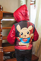 Куртка детская осенняя Пакемон 046 (56)