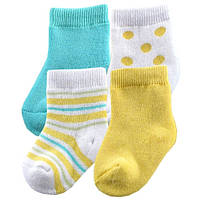 Носочки для девочки (4 пары).  6-18  месяцев
