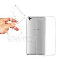 Прозрачный силиконовый чехол для Meizu U10