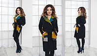 Пальто  больших размеров женское