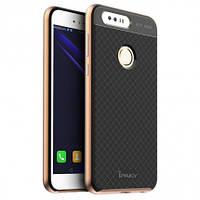 Чехол iPaky TPU+PC для Huawei Honor 8 Черный / Золотой