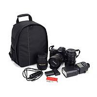 Удобный и практичный рюкзак для фототехники. Рюкзак для фотокамеры. Высокое качество. Купить. Код: КДН1158