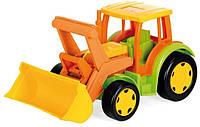 Игрушечный трактор Wader Гигант с ковшом (66005)