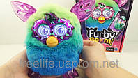 Интерактивная игрушка Ферби Бум голубой Furby crystal series (green/blue)