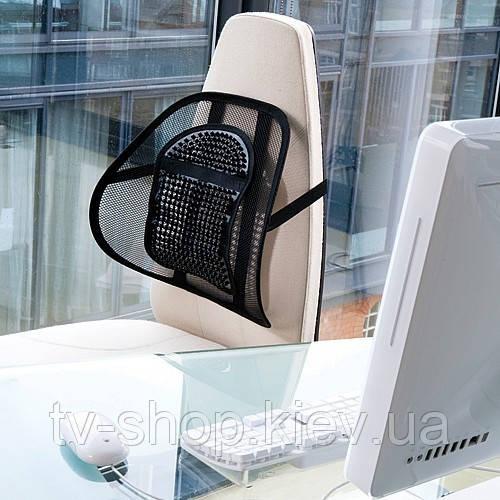 Крепление для стула Sit Right c массажером (серый)