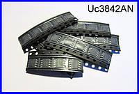 UС3842, ШИМ-контроллер питания, SMD.