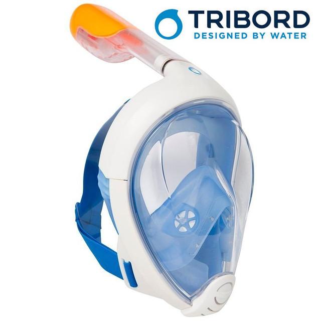 Полнолицевые маски Easybreath TRIBORD