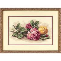 """Набор для вышивания Dimensions """"Срезанные розы//Rose Cuttings"""" 13720"""