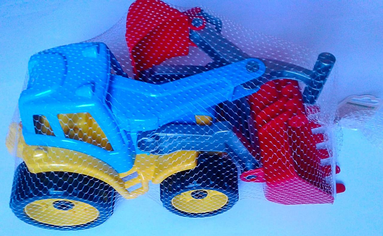 Трактор пластмассовый Для малышей 3671 Технокомп Украина